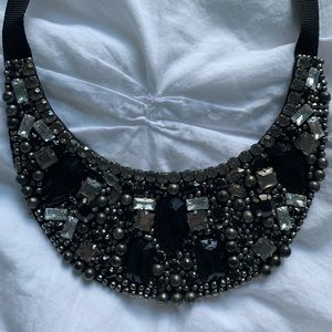 Club Monaco Embellished Bib Necklace